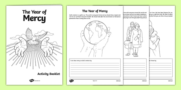 Year of Mercy Activity Booklet