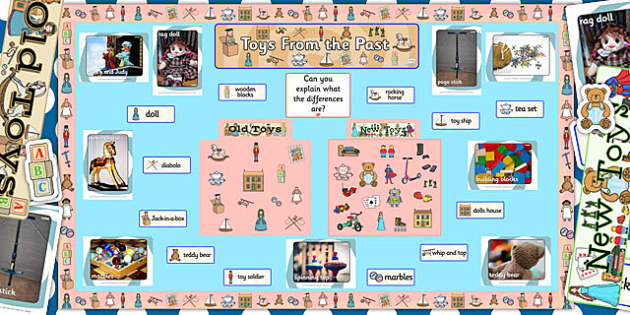 Ready Made Toys From The Past Display Pack - ready made, toys