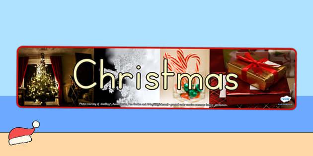 Australia Christmas Photo Display Banner - christmas, banner, photos, xmas
