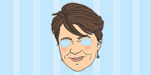 Leanne Wood Role Play Mask - leanne wood, role-play, mask, play