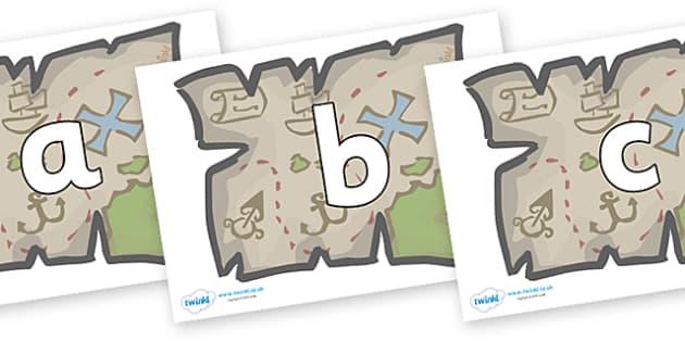Phoneme Set on Treasure Maps - Phoneme set, phonemes, phoneme, Letters and Sounds, DfES, display, Phase 1, Phase 2, Phase 3, Phase 5, Foundation, Literacy