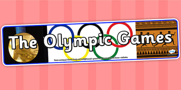 The Olympic Games IPC Photo Display Banner - olympic games, IPC display banner, IPC, olympic games display banner, IPC display, the olympics banner