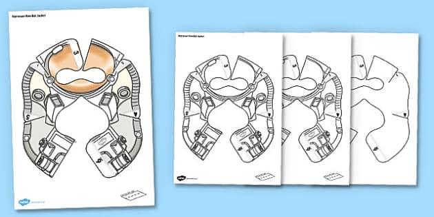 Astronaut Bee-Bot Jacket - astronaut, bee bot, bee-bot, beebot