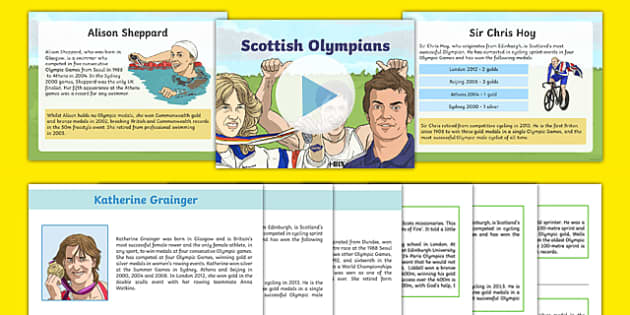 Scottish Olympians Resource Pack-Scottish