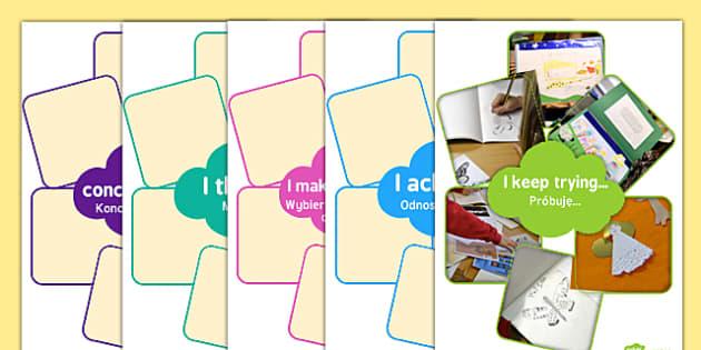 Interactive Characteristics of Learning Display English/Polish