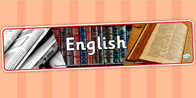 English Photo Display Banner - english, photo display banner, display banner, display, banner, photo banner, header, display header, photo header, photo