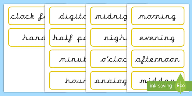 time vocabulary - KS2 Time Primary Resources, Time, Passing