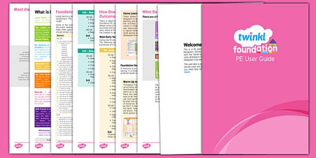Platinum Foundation PE Guide - platinum foundation, foundation pe, guide, unit, lessons, guidance