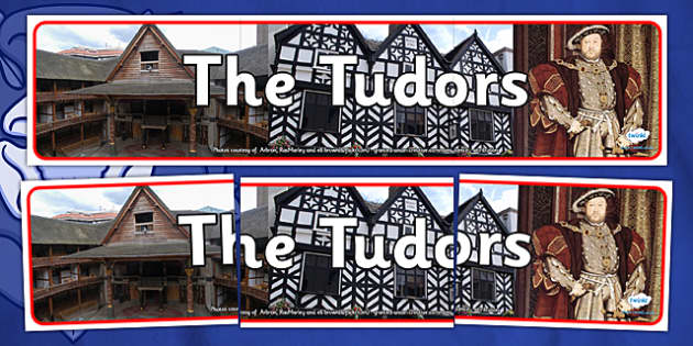The Tudors Photo Display Banner - tudors, photo display banner, display banner, display, banner, photo banner, header, display header, photo header, photo