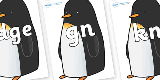 Silent Letters on Penguin to Support Teaching on Lost and Found - Silent Letters, silent letter, letter blend, consonant, consonants, digraph, trigraph, A-Z letters, literacy, alphabet, letters, alternative sounds