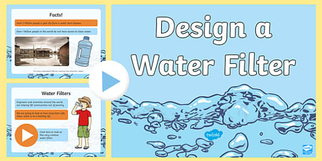 STEM Challenge Water Filter PowerPoint