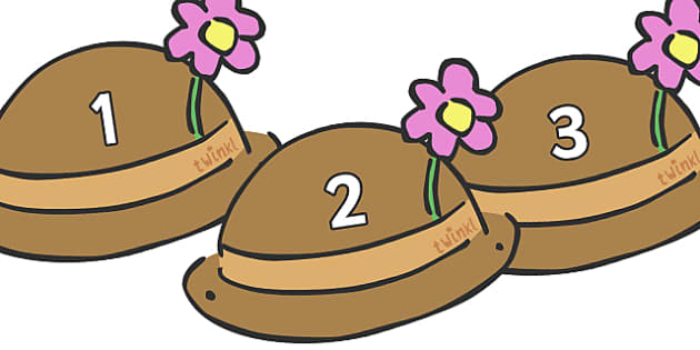 Numbers 0-30 on Hats - Hats, hat, Foundation Numeracy, Number recognition, Number flashcards, 0-30, A4, display numbers