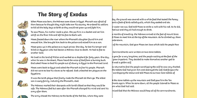 The Exodus Story