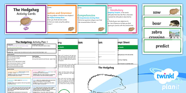 Y3 The Hodgeheg: Activity Plan 1 PlanIt Guided Reading Pack to Support Teaching on The Hodgeheg- The Hodgeheg, Dick King Smith, Hodgeheg, hedgehog, guided reading, reading, pack, English, KS2, Year