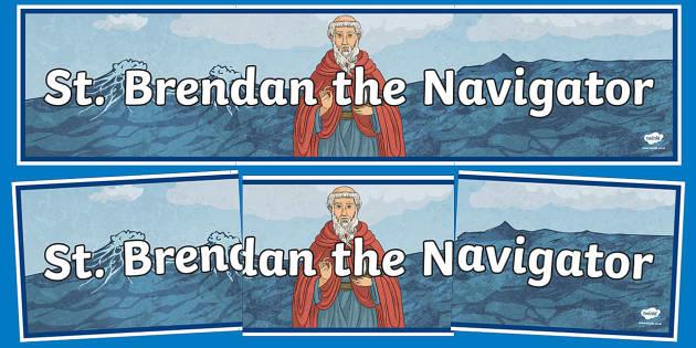 St. Brendan the Navigator Display Banner