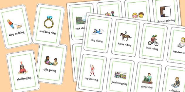 Three Syllable Final 'ng' Playing Cards - final ng, sound, playing cards