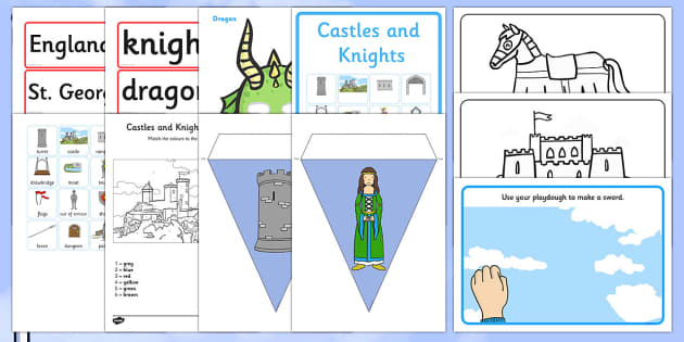St George's Day Childminder Resource Pack - st george's day, childminder, resource pack, resource, pack