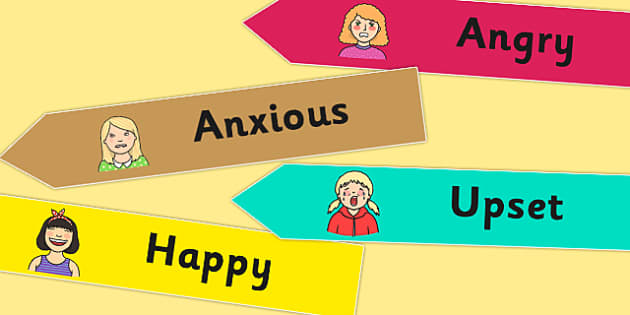 Emotions Voice Cards - emotions, feelings, voice cards, cards