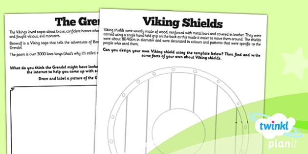 PlanIt History LKS2 Vikings Anglo-Saxons Unit Home Learning Tasks