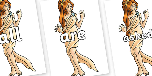 Tricky Words on Aphrodite - Tricky words, DfES Letters and Sounds, Letters and sounds, display, words