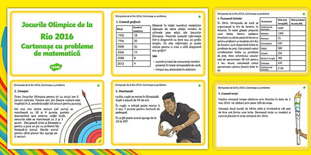 Olimpiada de la Rio 2016, Cartonașe cu probleme