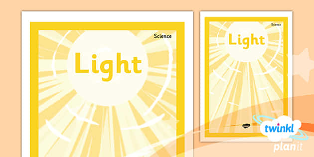 PlanIt - Science Year 3 - Light Unit Book Cover - planit, science, year 3, book cover, light