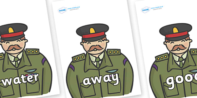 Next 200 Common Words on Generals - Next 200 Common Words on  - DfES Letters and Sounds, Letters and Sounds, Letters and sounds words, Common words, 200 common words