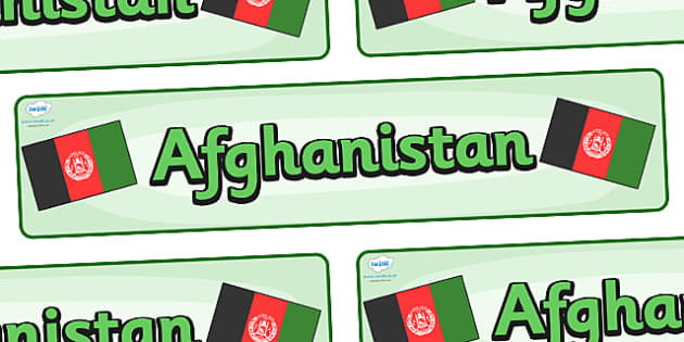 Afghanistan Display Banner - Afghanistan, Olympics, Olympic Games, sports, Olympic, London, 2012, display, banner, sign, poster, activity, Olympic torch, flag, countries, medal, Olympic Rings, mascots, flame, compete, events, tennis, athlete, swimmin
