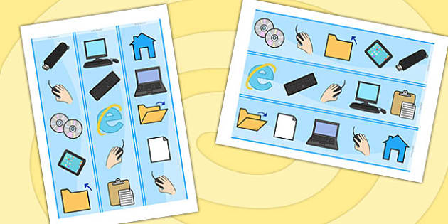 ICT And E Safety Display Border - internet safety, safety, border
