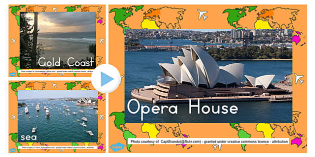 Aerial Photo PowerPoint - australia, aerial, photo, powerpoint