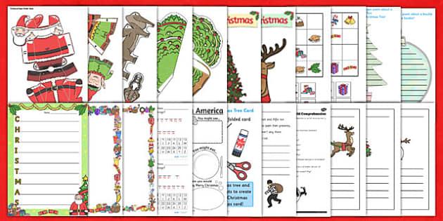 KS2 Christmas Resource Pack - ks2, christmas, resources, pack