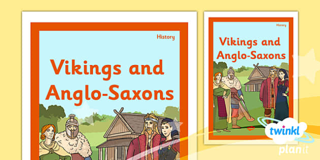 PlanIt - History LKS2 - Vikings and Anglo-Saxons Unit Book Cover - planit, book cover, lks2, vikings and anglo-saxons