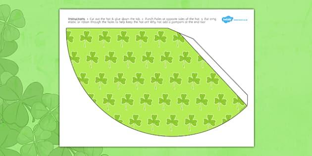 St. Patrick's Day Party Hat - st patrick, party, hat, party hat
