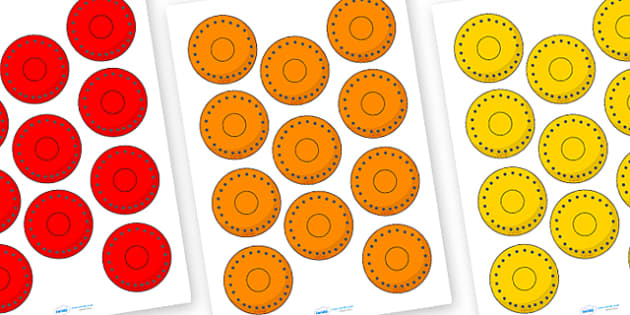 Pirate Colour Doubloon Cut Outs - doubloons, colour doubloons, coloured doubloons, doubloon cut outs, doubloon cutouts, pirate, pirates, pirate money