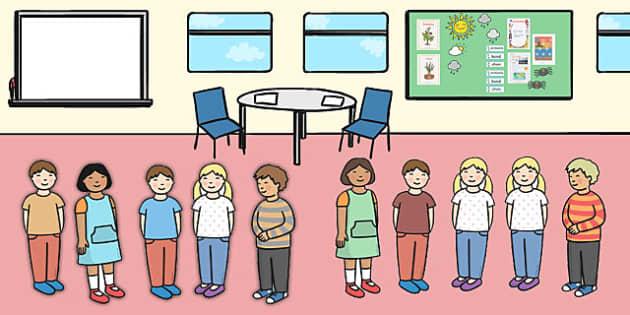 Ten Little Children Counting Song Cut Outs - Ten, Little, Song