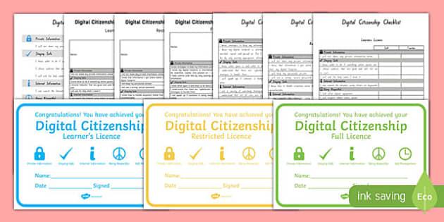 Digital Citizenship Resource Pack