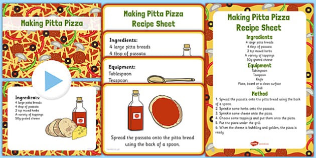 Making Pitta Pizza EYFS Resource Pack - EYFS planning, Early years activities, traditional tales, food