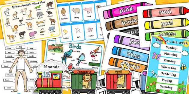 Afrikaans Set Up Pack - afrikaans, resource pack, resources