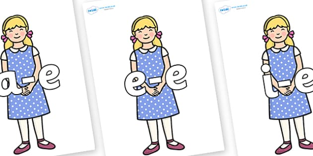 Modifying E Letters on Goldilocks - Modifying E, letters, modify, Phase 5, Phase five, alternative spellings for phonemes, DfES letters and Sounds
