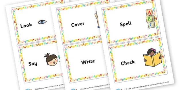 Spellings Strategies - Spelling Strategies Primary Resources, grammar, aids, handwriting