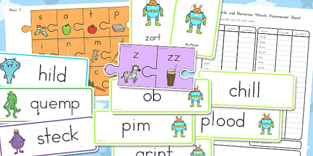Foundation Phonics Screening Check Resource Pack - australia