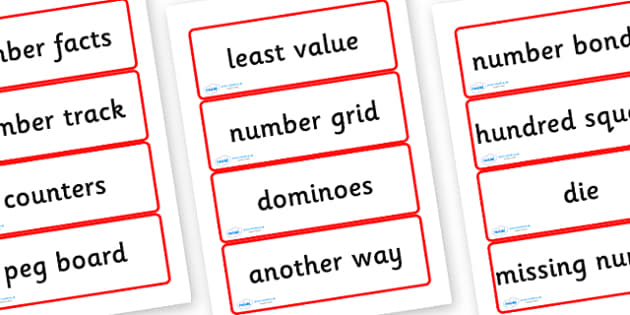 Year Four Numeracy Vocabulary Word Cards - General - word cards, numeracy word cards, numeracy vocabulary, word flash cards, flash cards, key words