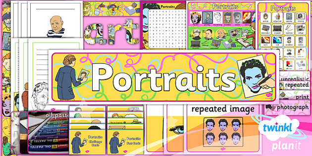 PlanIt - Art KS1 - Portraits Unit Additional Resources