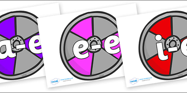 Modifying E Letters on Shields - Modifying E, letters, modify, Phase 5, Phase five, alternative spellings for phonemes, DfES letters and Sounds
