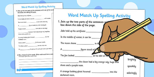 Words Ending in 'ly' Sentence Match Up Activity - activities, match