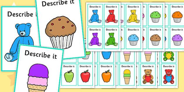 Describe It Colour - describe it, colour, images, sen, describe