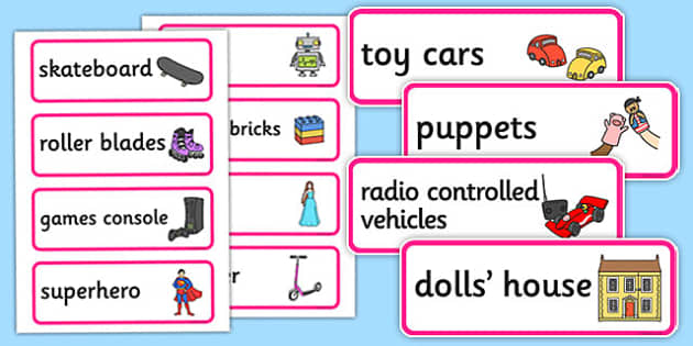 Toy Shop Word Cards - Toy shop Role Play, toy shop, toy shop resources, toys, till, money, customer, dolls, lego, ben 10, role play, display, poster, Word cards, Word Card, flashcard, flashcards, Word cards, Word Card, flashcard, flashcards,