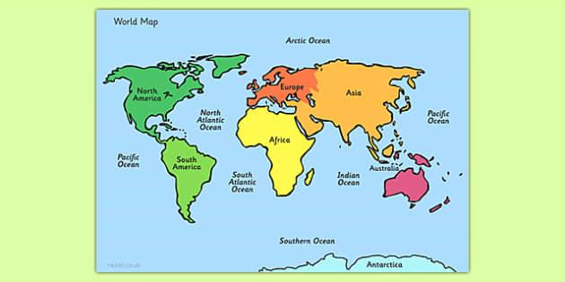 Map Of The World Sheet map map of the world world atlas – Map World Ks1