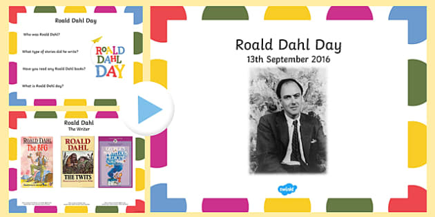 Roald Dahl Day Assembly PowerPoint Presentation - roald dahl day