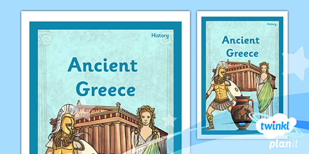 PlanIt - History UKS2 - Ancient Greece Unit Book Cover - planit, history, book cover, ancient greece
